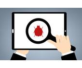 Malware auf Tablet unter der Lupe