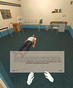 Fujitsu und Stell Dir V(o)R entwickeln VR Training für Nothelfer-Ausbildung