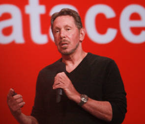 Oracle-Gründer Larry Ellison