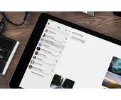 Signal auf dem iPad