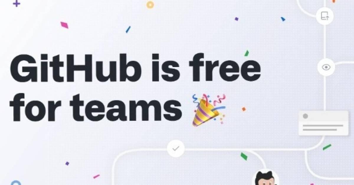 GitHub ist für Teams ab sofort gratis