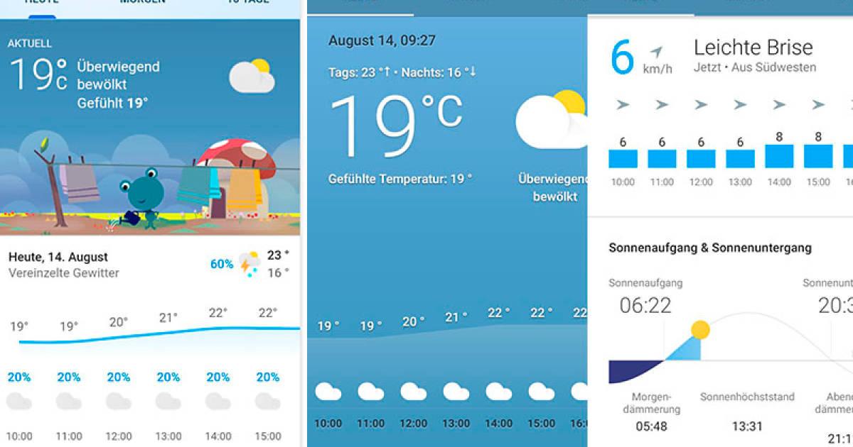 Hey Google Wie Wird Das Wetter Heute