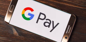 Google Pay Payment Dienstleister App Smartphone