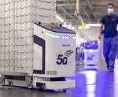 Bosch verwendet in seiner vernetzten Fabrik unter anderem diese autonomen Transportfahrzeuge  mit 5G-Anbindung