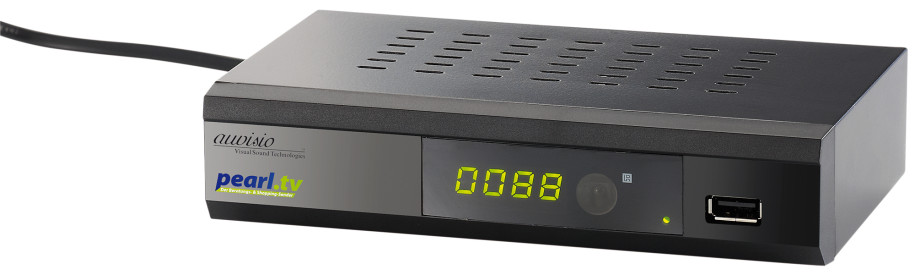 auvisio Digitaler pearl.tv DVB-C2-Kabelreceiver DCR-100.fhd, Full-HD ...