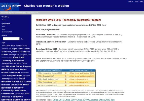 Office-Upgrades gratis - aber nur kurzzeitig - computerworld ch