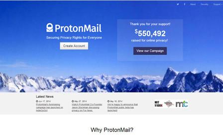 ProtonMail - Sichere Alternative zu Gmail und Co