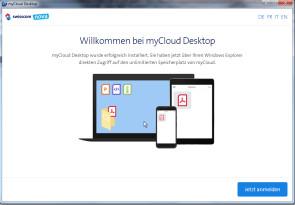Swisscoms myCloud kommt auf den Desktop