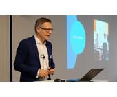 Steve Mayer, Country Manager Schweiz, Citrix erklärte die weitere Roadmap des Unternehmens.