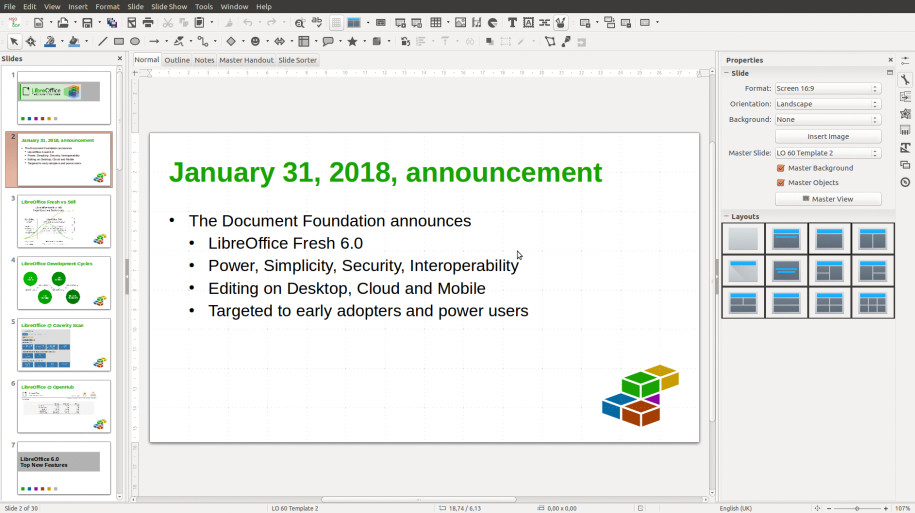 LibreOffice 6.0: Neue Version der Microsoft-Office-Alternative veröffentlicht