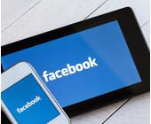 Facebook auf dem Tablet und Smartphone