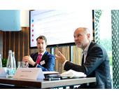 Ian Wood von Veritas und Robert Bornträger von Payrexx diskutierten mit den Gästen der 3. Computerworld Breakfast Session über die Bedeutung von Daten für das Business.