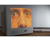 Monitor mit Gesicht