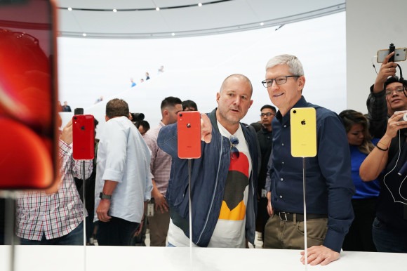 Design-Chef Jony Ive mit CEO Tim Cook