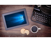 Tablet mit Windows 10